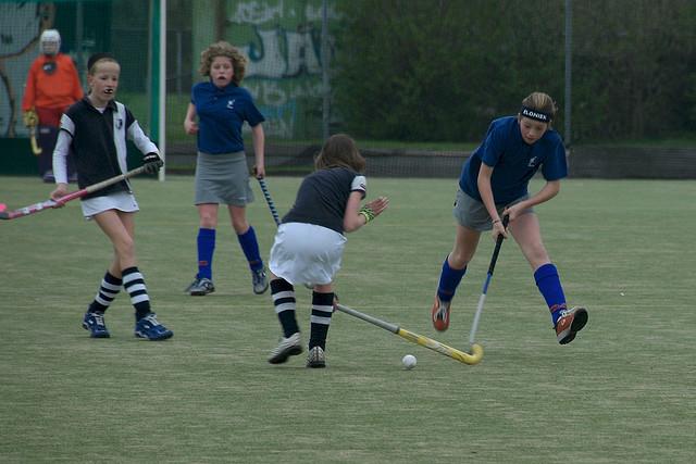 Sportbeoefening als middel tegen armoede (foto Poelenr cc)